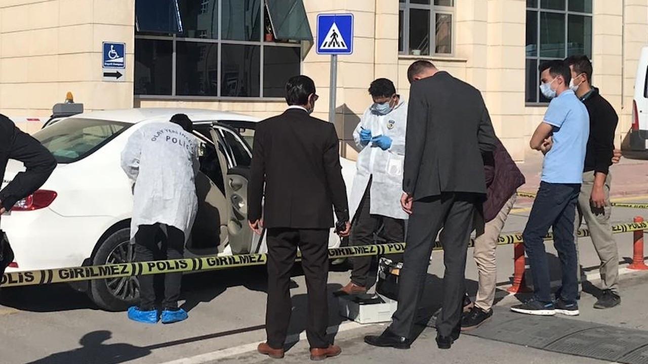 Konya Adliyesi önünde avukata silahlı saldırı