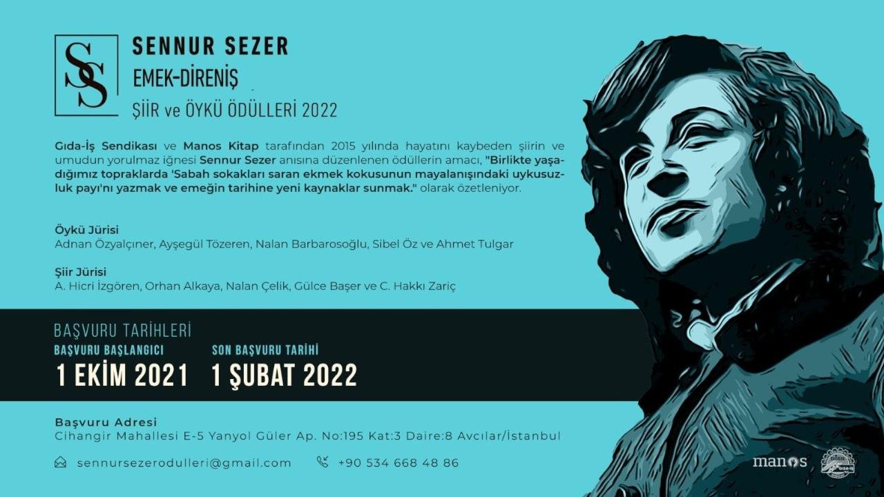 Sennur Sezer Ödülleri'ne başvurular başladı