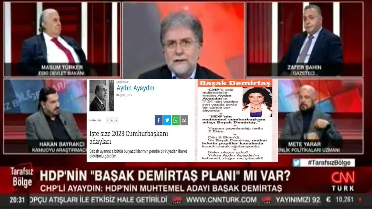 Faruk Bildirici: Ahmet Hakan, Ayaydın'ın 'rüya'sını gerçek sandı