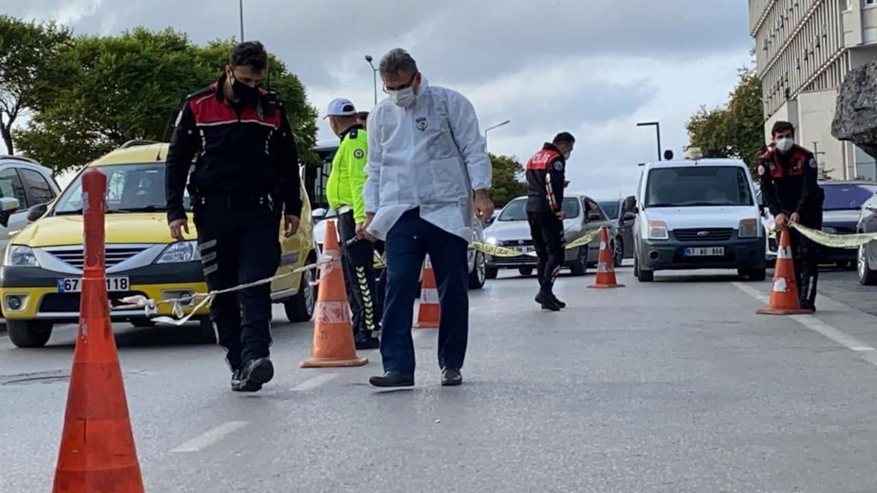 Taksici trafikte tartıştığı milli sporcuyu silahla yaraladı