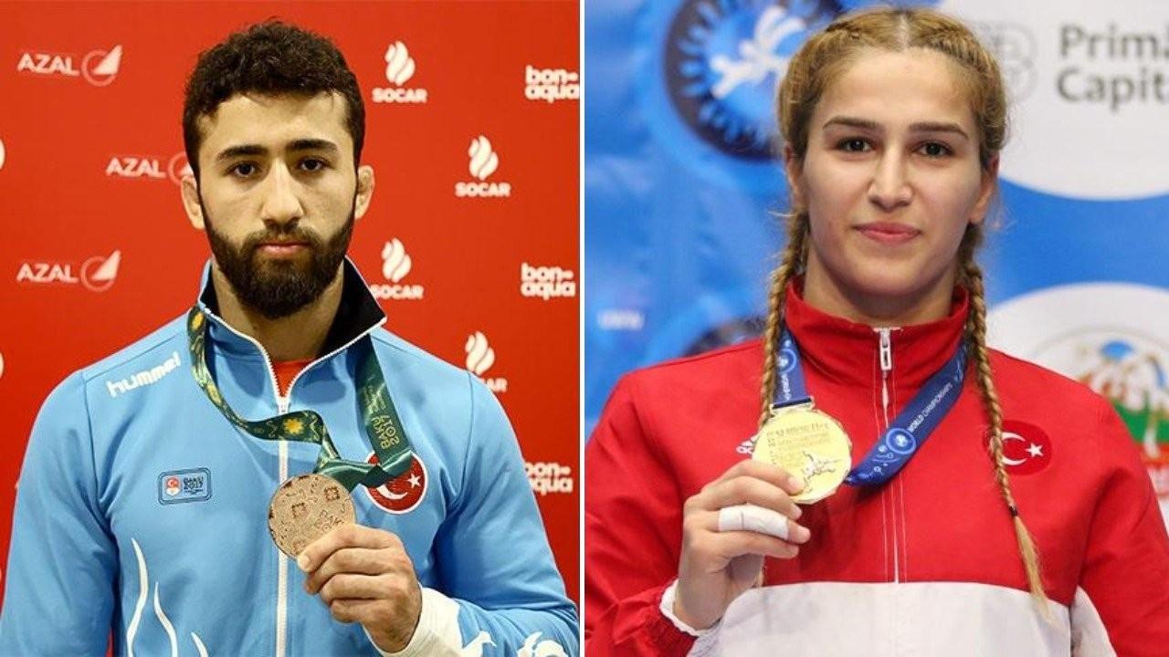 Milli güreşçi Burhan Akbudak, Dünya Şampiyonası'nda finale yükseldi