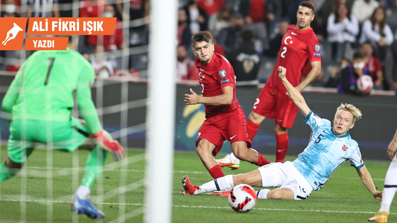 Türkiye - Norveç maçının anlattıkları