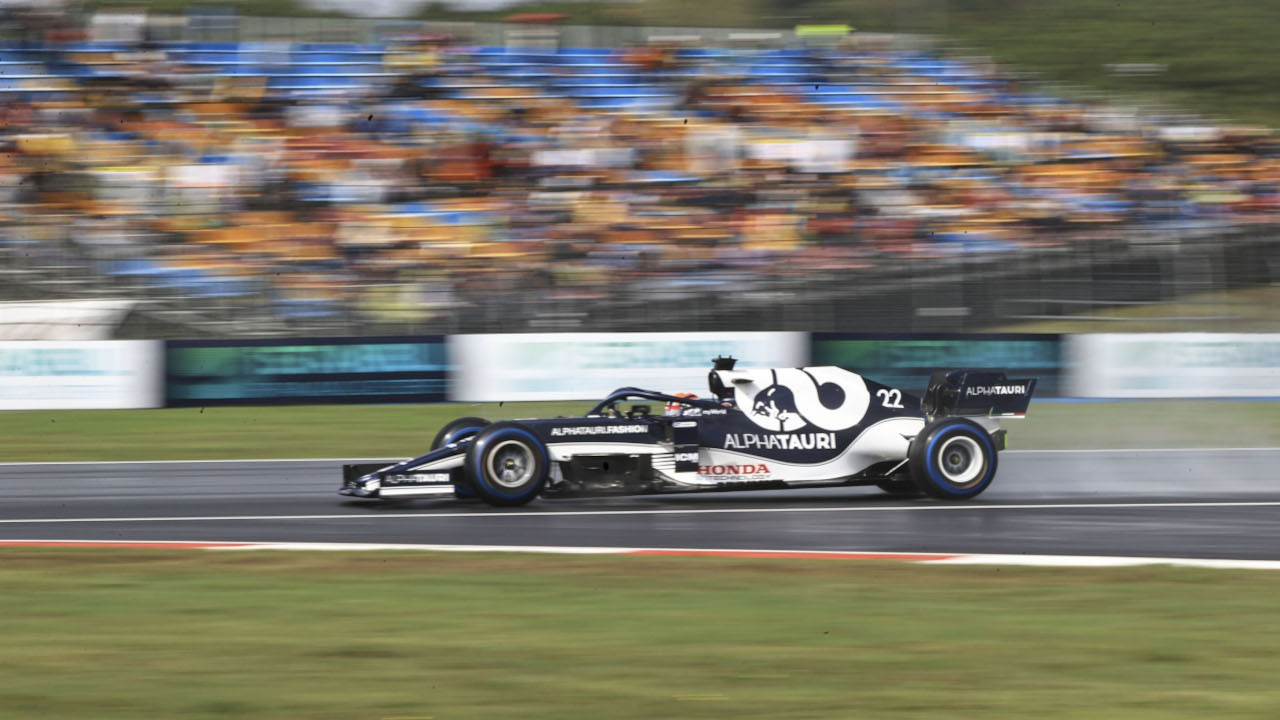 Formula 1'de  günün en hızlısı Pierre Gasly