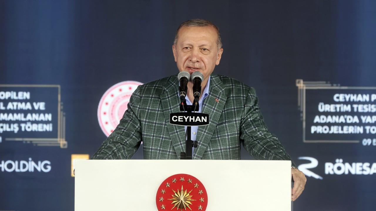 Erdoğan: Enerji fiyatlarını üçte bir beşte bir oranında yansıtıyoruz
