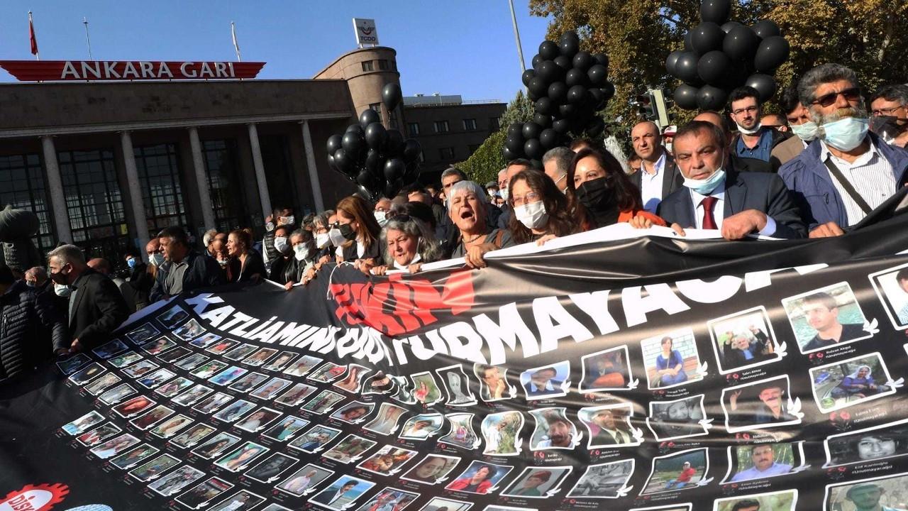 TİHV ve İHD: 10 Ekim anmasına saldırı barışa ve demokrasiye saldırıdır