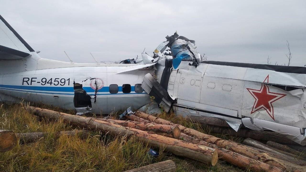 Rusya'da paraşütçüleri taşıyan uçak kaza yaptı: 16 ölü