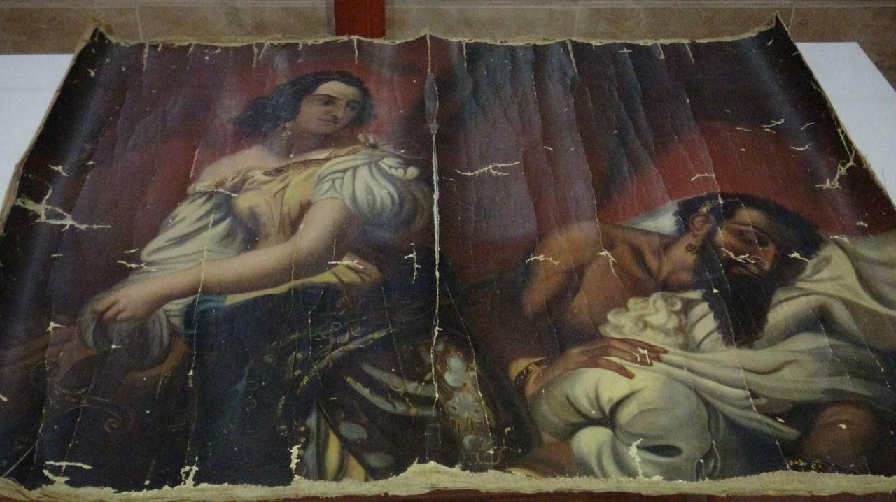 140 yıllık Yahya Peygamber tablosu orijinal çıktı - Sayfa 2