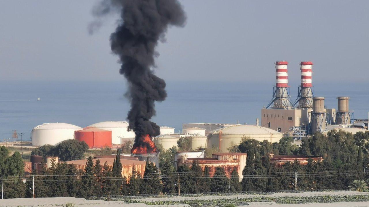 Lübnan'da petrol tesisinde patlama: Ordu tahliyelere başladı