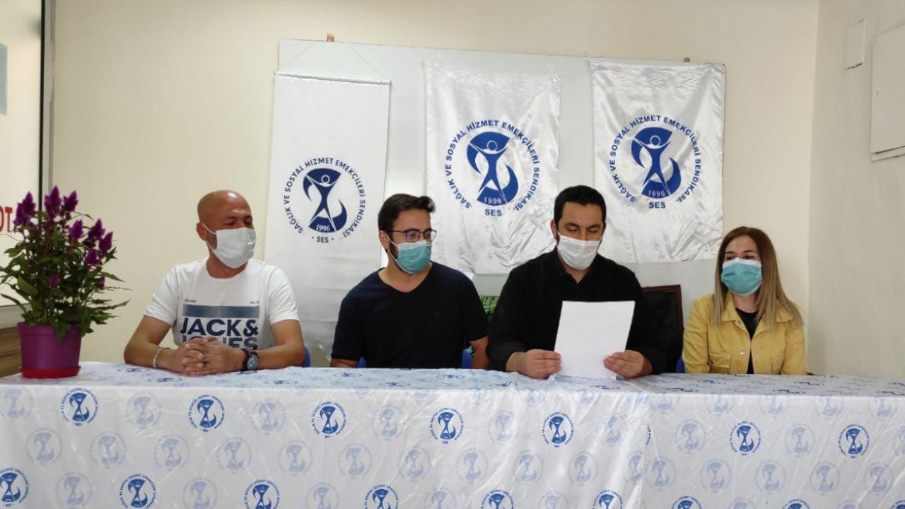 Dersim'de sağlık çalışanları ayakta bekletilip sorgulandı