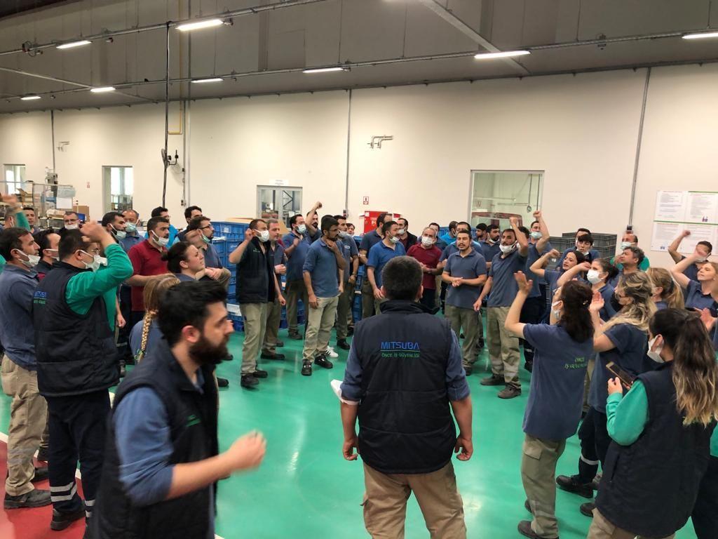 Mitsuba fabrikasında işçilerin direnişi sürüyor - Sayfa 1