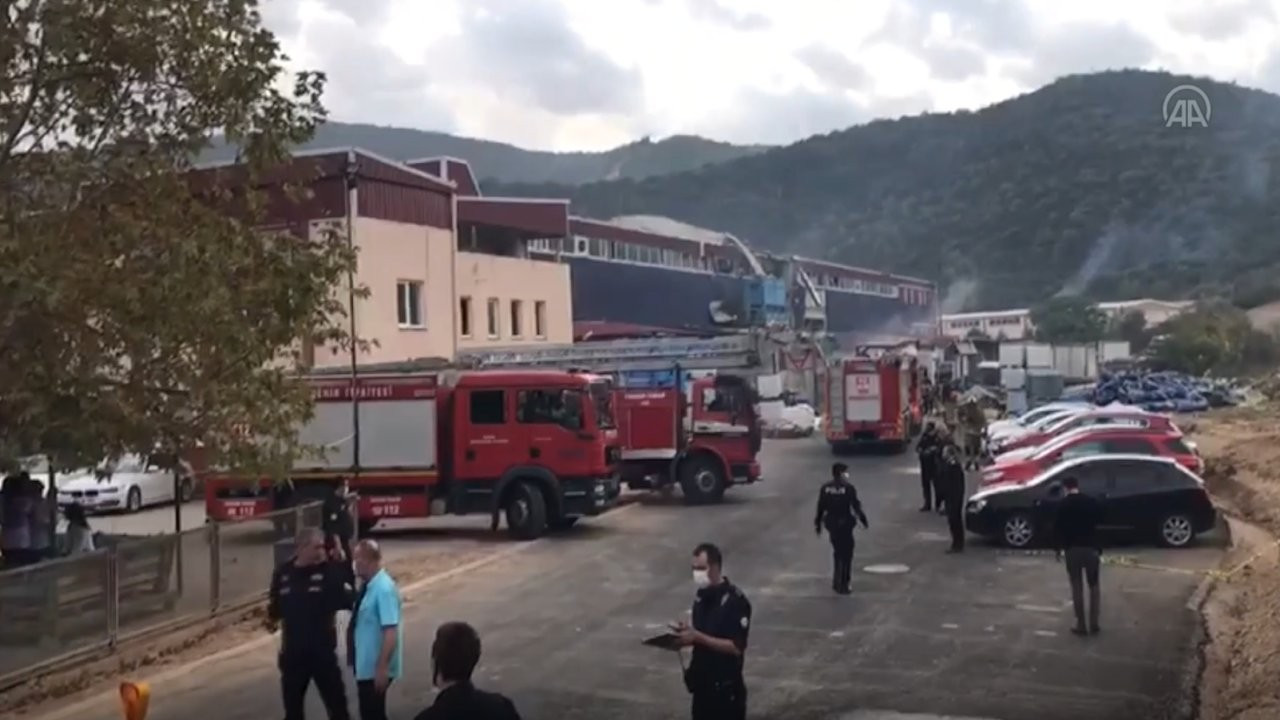 Bursa'da kimya fabrikasında patlama: 1 işçi öldü, 3 işçi yaralandı