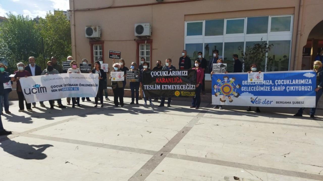 Dikili'de öğrencilere yönelik taciz davası ertelendi