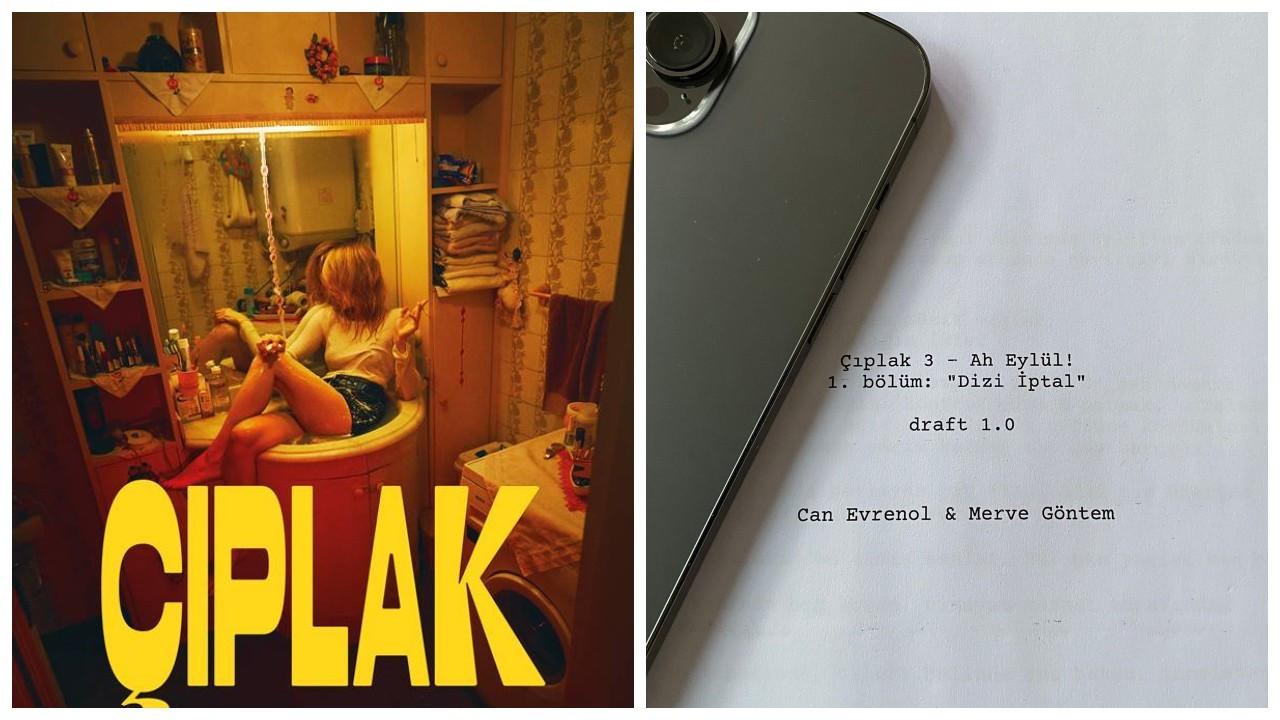'Çıplak'ın üçüncü sezon çalışmaları başladı