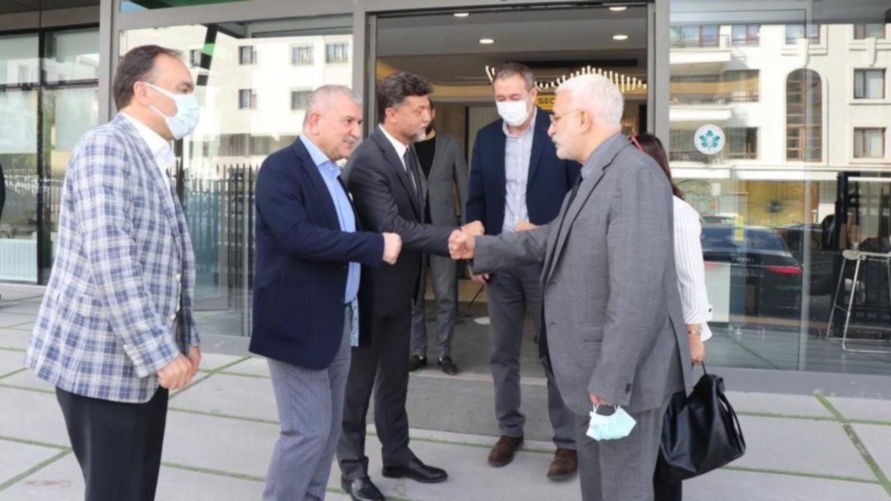 HDP'den Gelecek Partisi'ne 'Tutum Belgesi' ziyareti