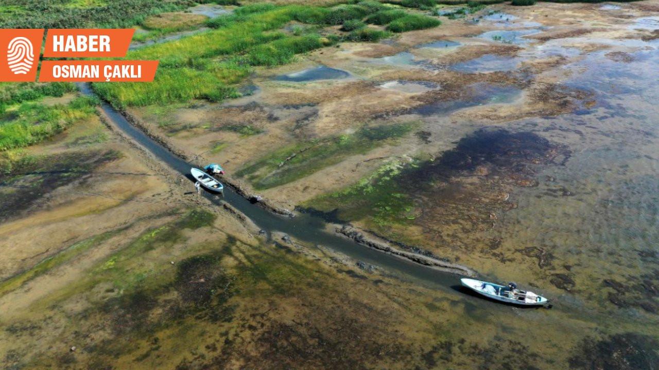Karavan parkı için kepçeler İznik Gölü'ne girince proje davalık oldu
