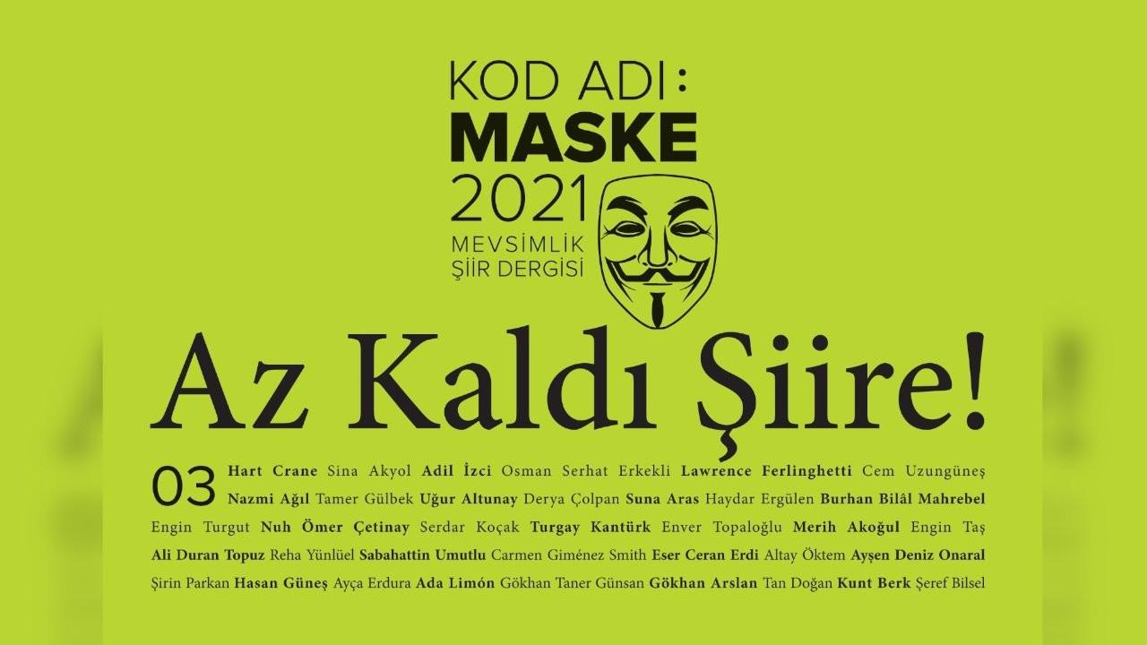 'Kod Adı: Maske 2021'in üçüncü sayısı 15 Ekim'de Gazete Duvar'da