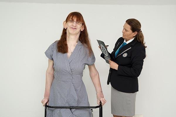 Rümeysa Gelgi, dünyanın en uzun kadını olarak rekorlar kitabında - Sayfa 2