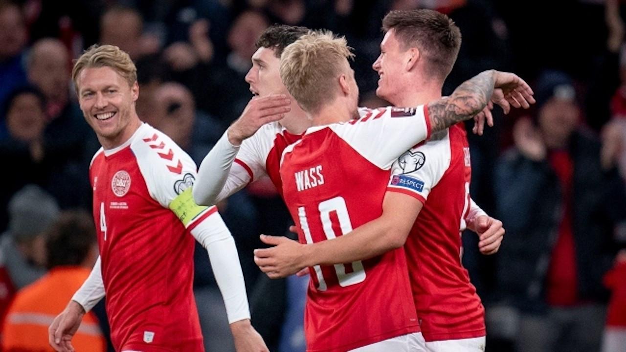 Danimarka, Dünya Kupası'na katılmayı garantiledi