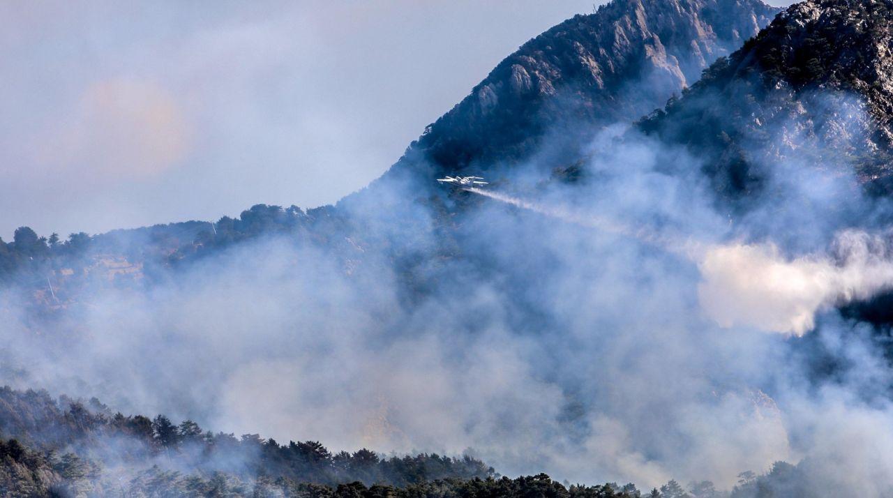 Antalya'da ormana düşen yıldırım yangın çıkardı - Sayfa 1