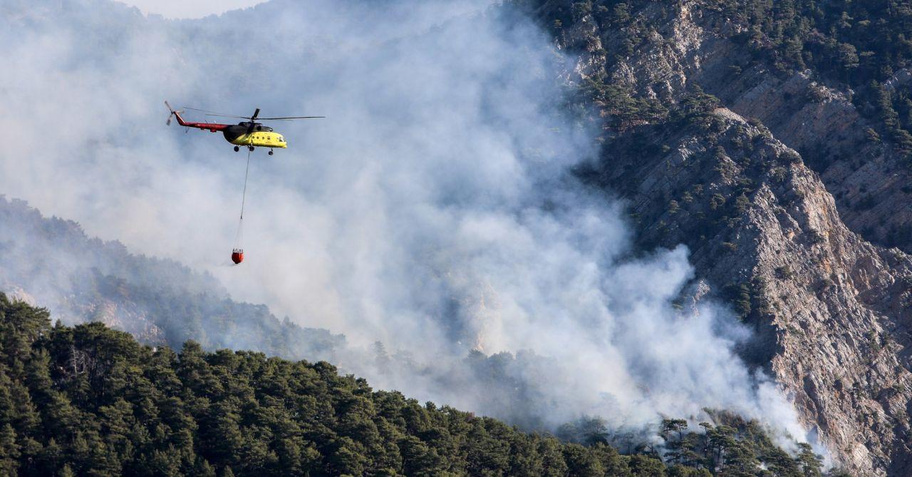 Antalya'da ormana düşen yıldırım yangın çıkardı - Sayfa 2