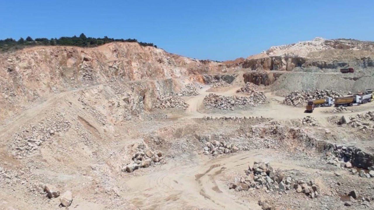 Erker: Vize'deki maden ocakları nedeniyle köylüler zarar görüyor