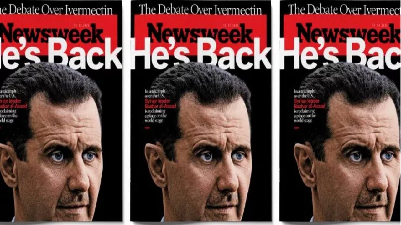 Newsweek: Beşar Esad dünya sahnesine geri döndü