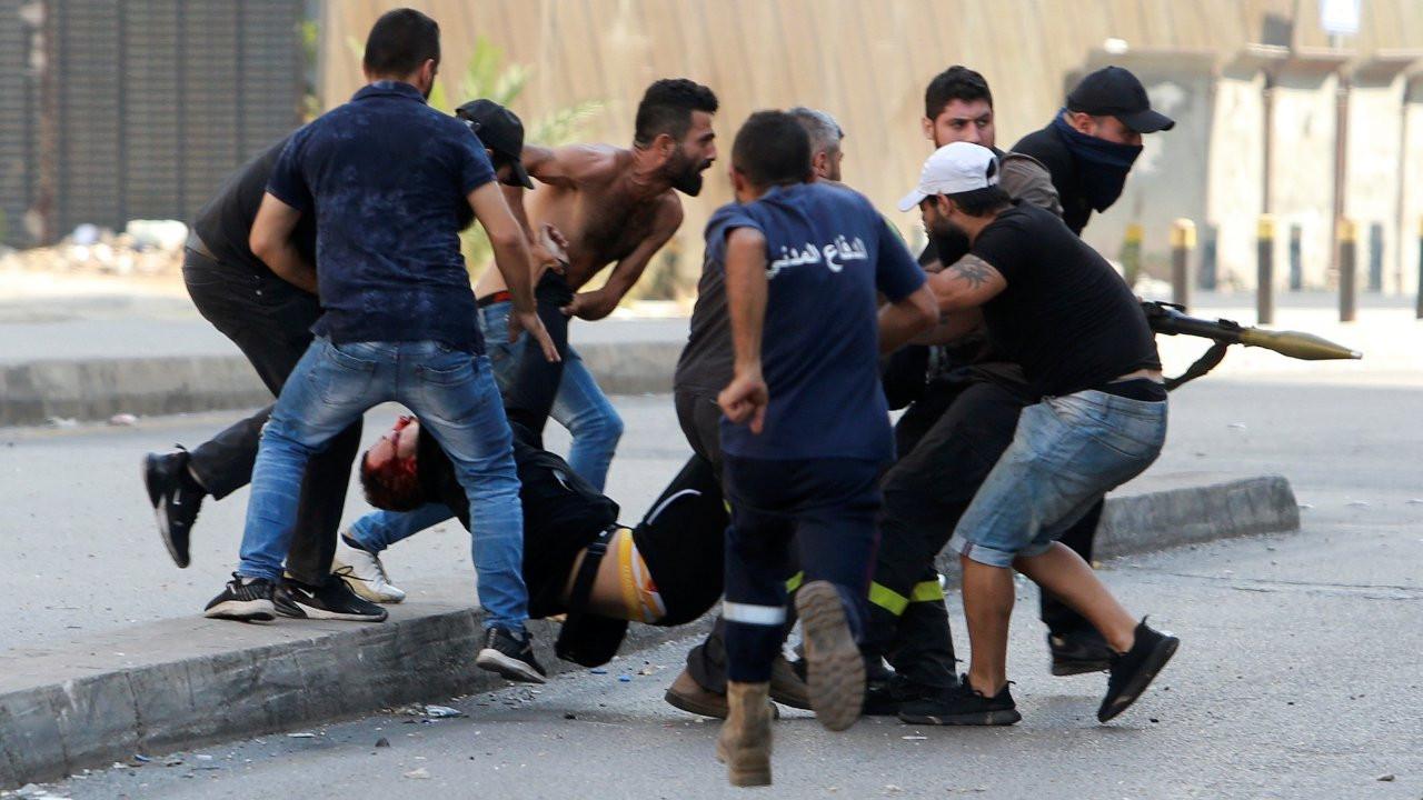 Lübnan'da Hizbullah destekçilerinin gösterisine ateş açıldı: 6 ölü