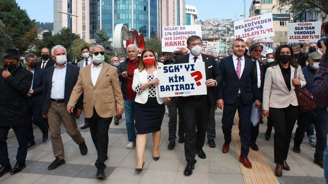 İzmit'te Belsa Plaza protestosu: Yok pahasına satıldı