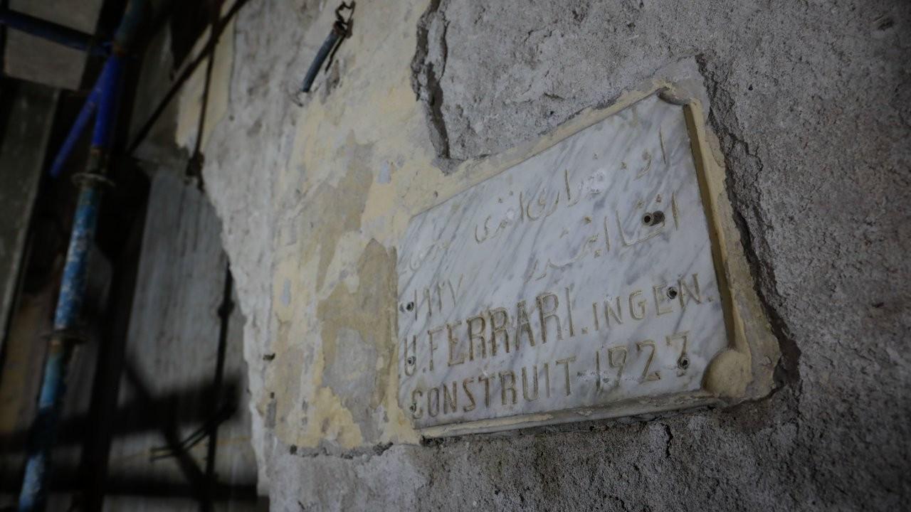 Haldun Taner Sahnesi restorasyonunda mimar kitabesi bulundu
