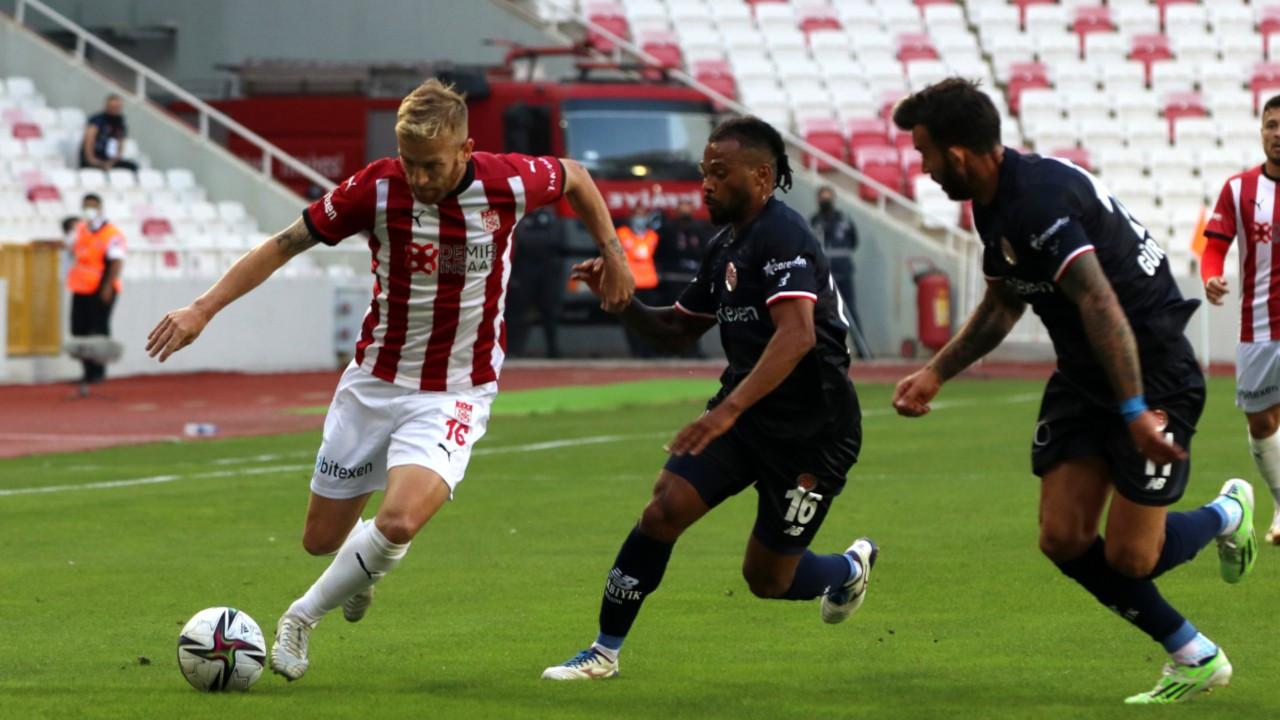 Antalyaspor - Sivas mücadelesinden kazanan çıkmadı: 2-2