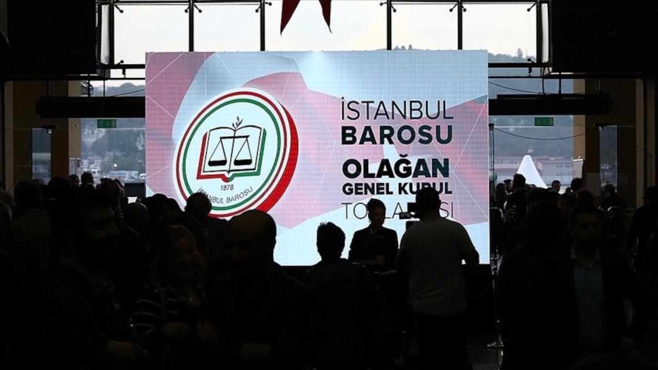 İstanbul Barosu genel kurulu toplandı