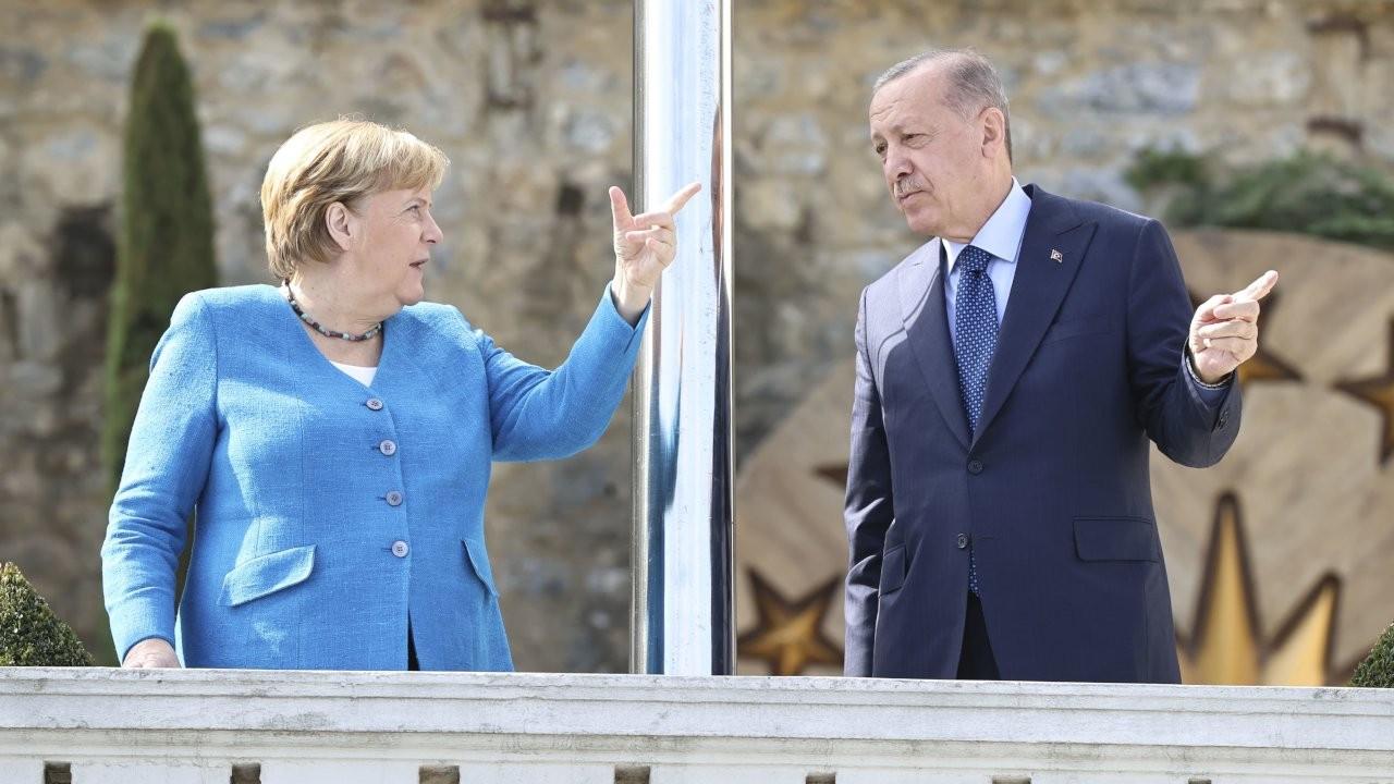 Son ziyaret: Erdoğan Merkel'le görüşüyor