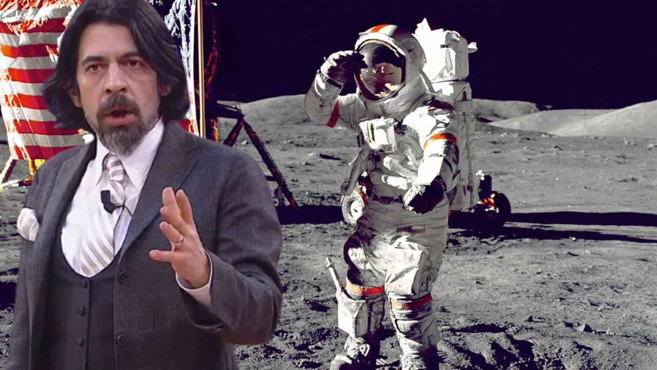 Okan Bayülgen: Uzaya gidilmedi... Sosyal medya: Ya bütün sırrı bozdun ya...