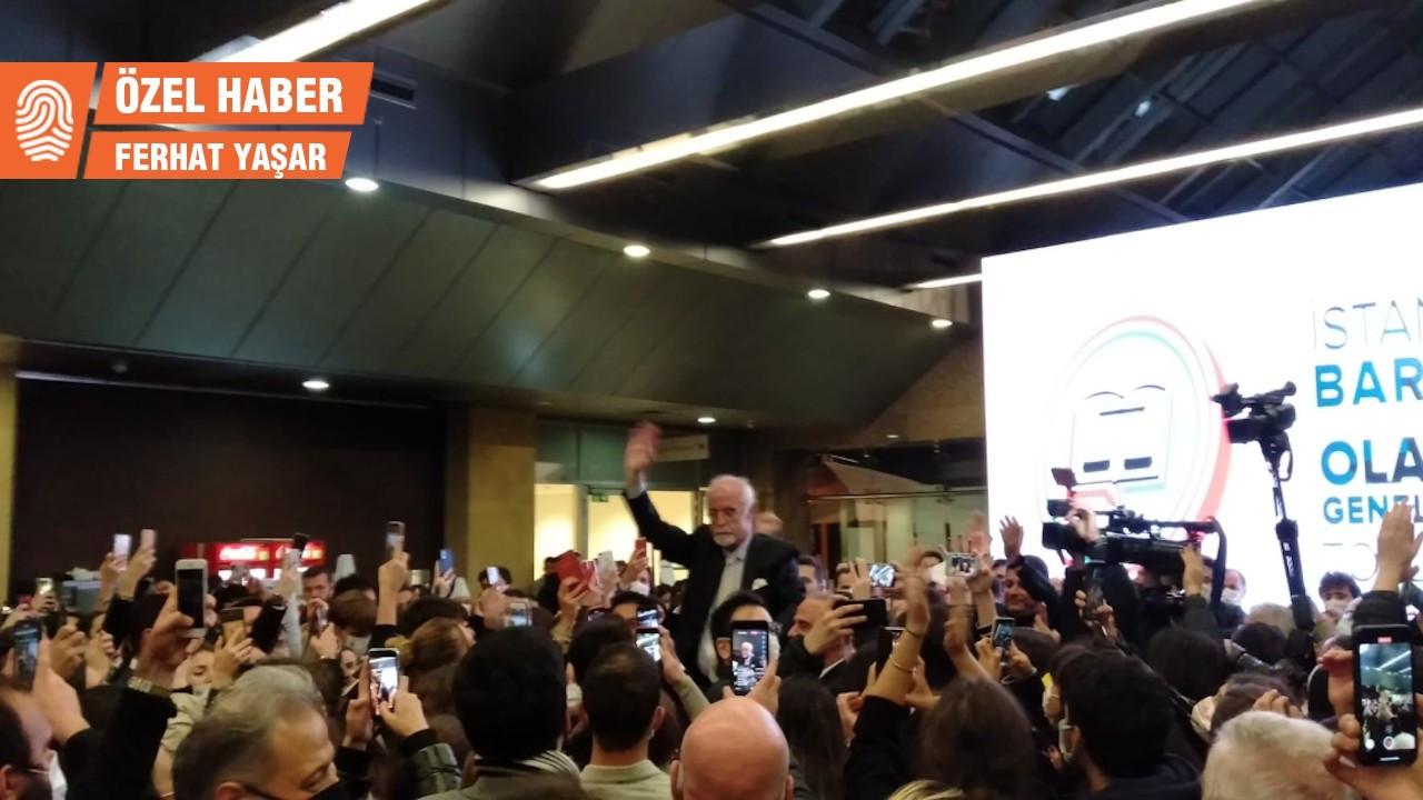 İstanbul Barosu'nda seçim: Durakoğlu yeniden başkan