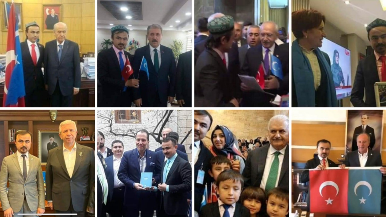 Sahte liderin fotoğraf albümü: Akşener, İnce, Bahçeli, Yıldırım...