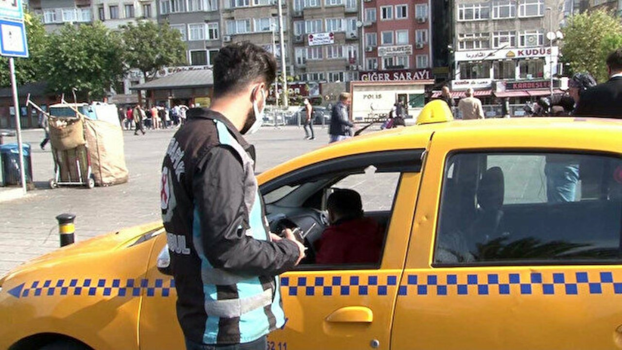Vale ve taksi denetimi: 559 işletmeye tutanak tutuldu