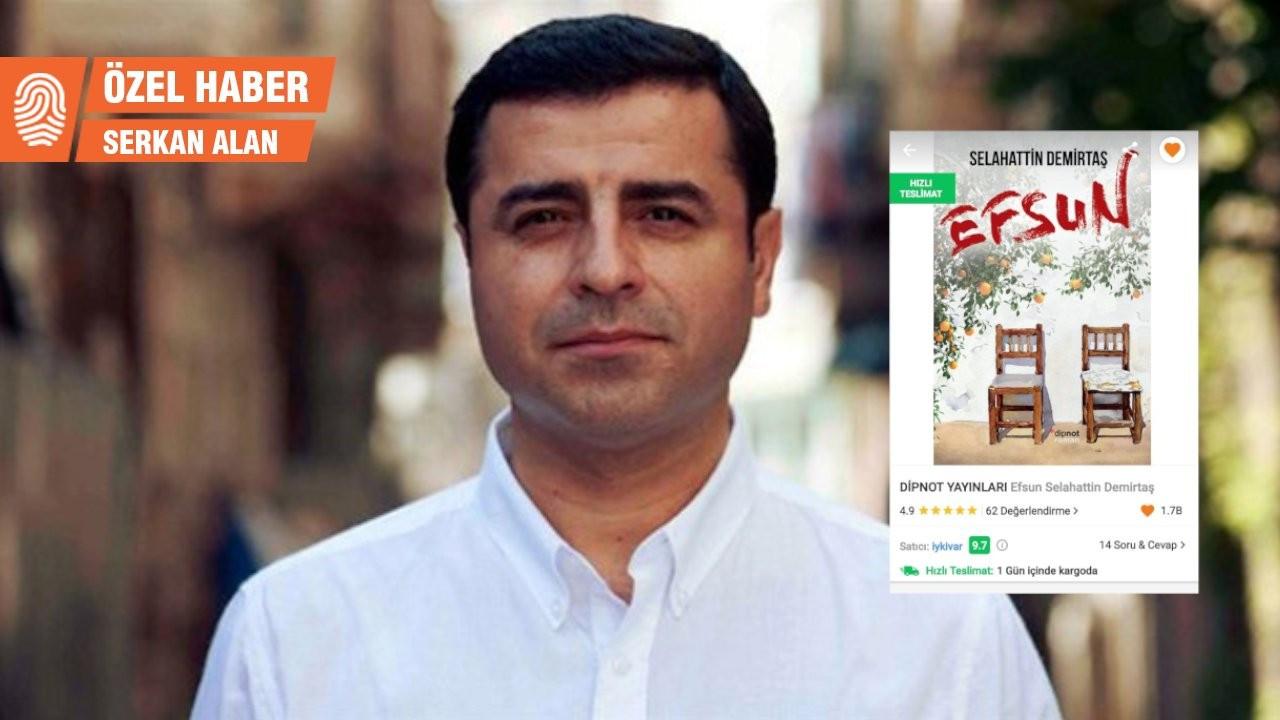 Selahattin Demirtaş, Trendyol'da hedef gösterilmişti: Nefret söylemi içeren ifadeler kaldırıldı