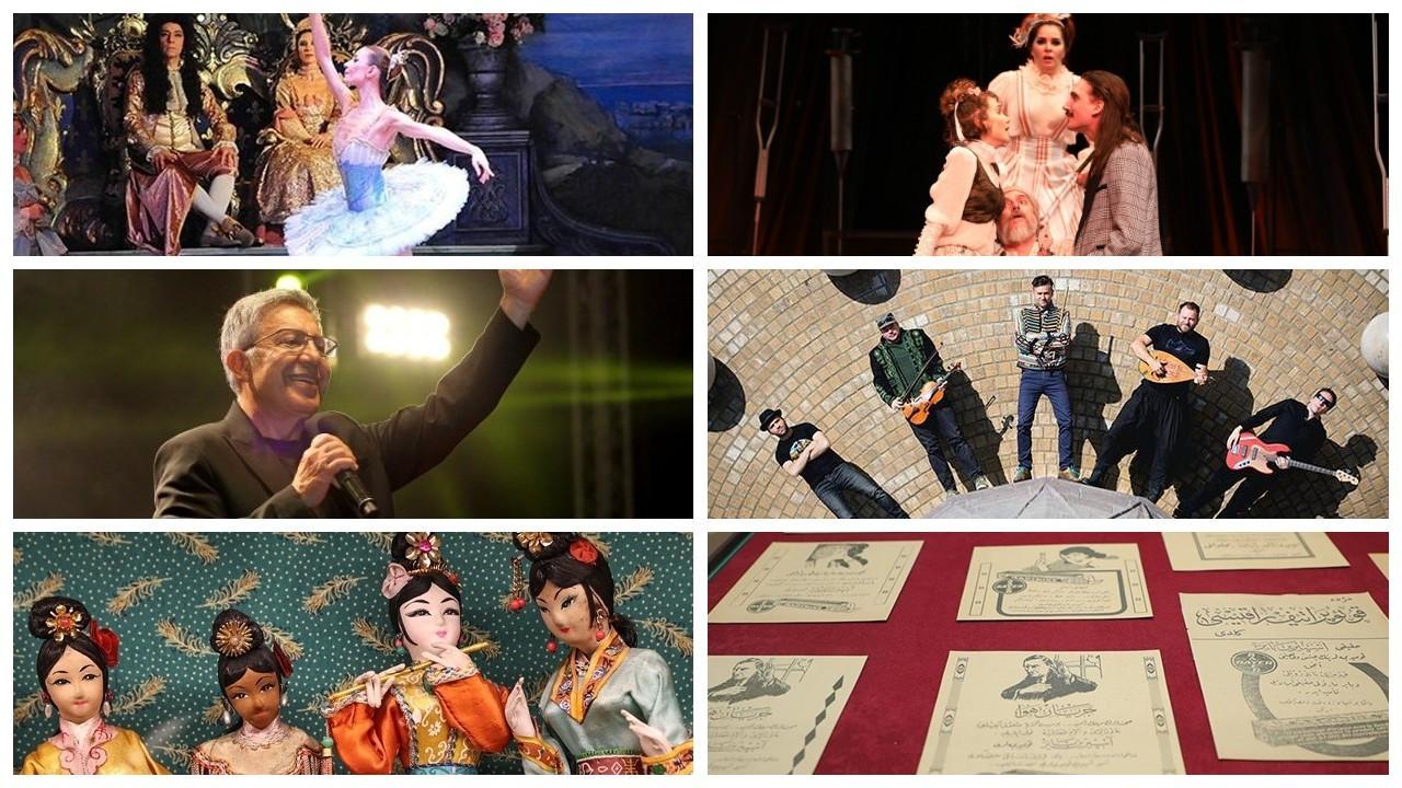 İstanbul'da haftanın kültür sanat etkinlikleri