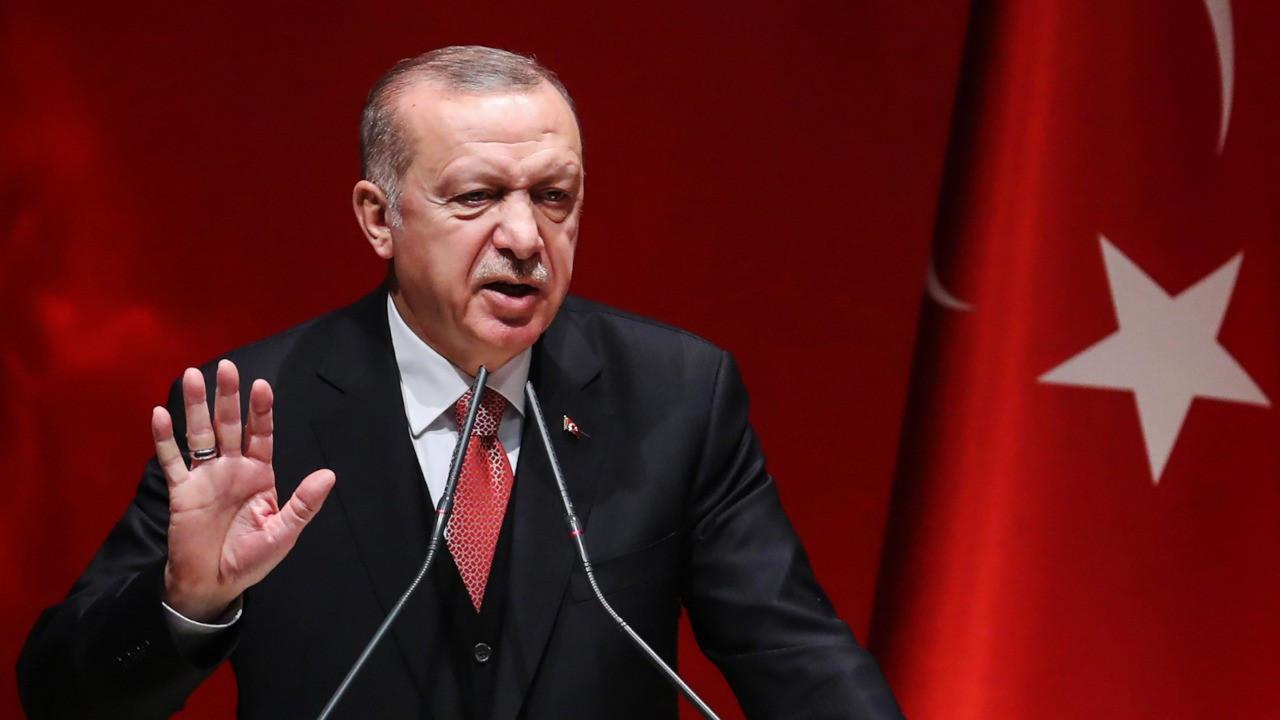 Erdoğan: 2021'i yüzde 9'luk bir büyümeyle tamamlamayı öngörüyoruz