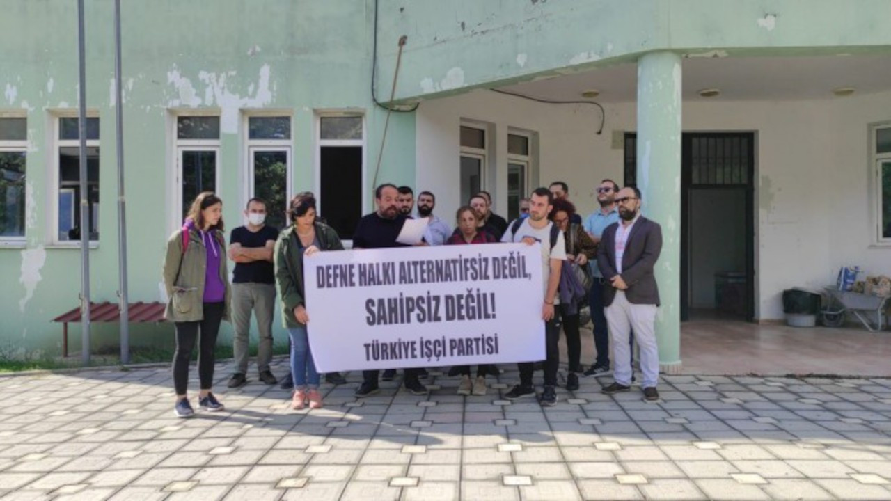TİP, CHP'li belediyeyi protesto etti