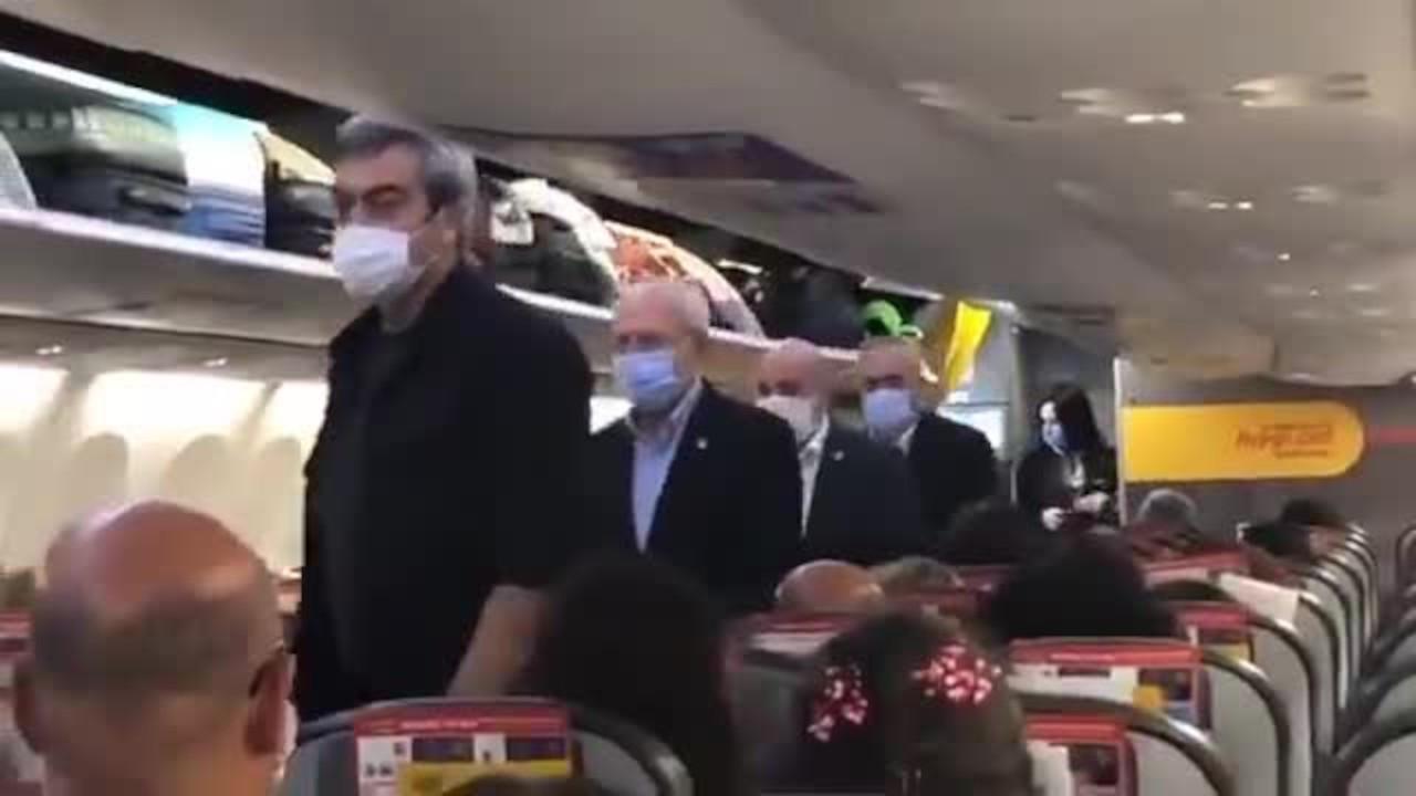 Kılıçdaroğlu'na ekonomi sınıfında alkış