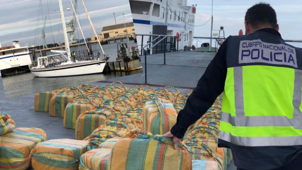 Okyanusta bir yelkenlide 5.2 ton kokain yakalandı