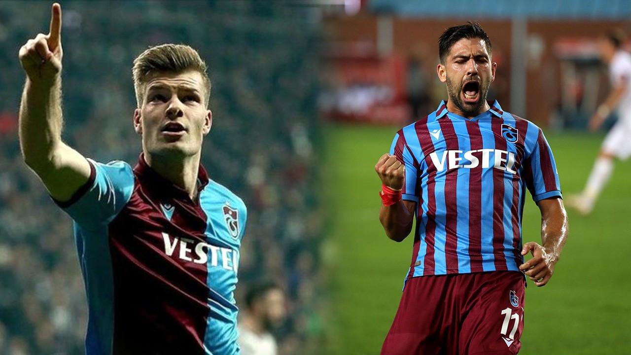Trabzonspor'da Bakasetas Sörloth'u unutturdu