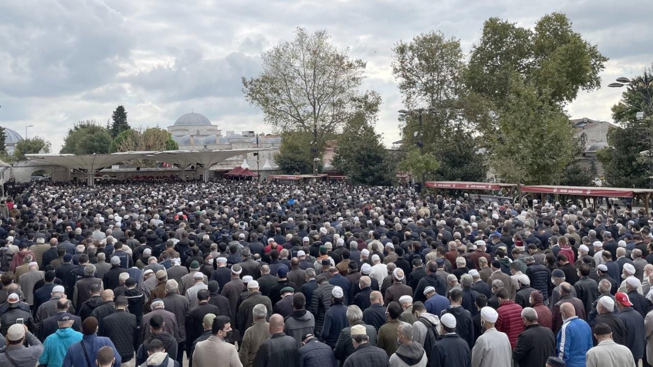 Özdemir Bayraktar için cenaze töreni düzenlendi