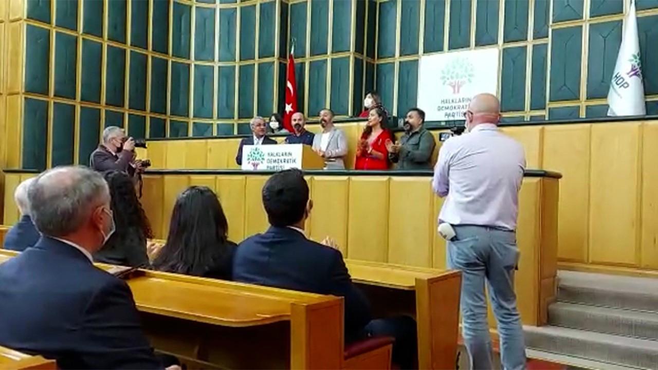 HDP Meclis kürsüsünü Mezopotamya Kültür Merkezi'ne açtı
