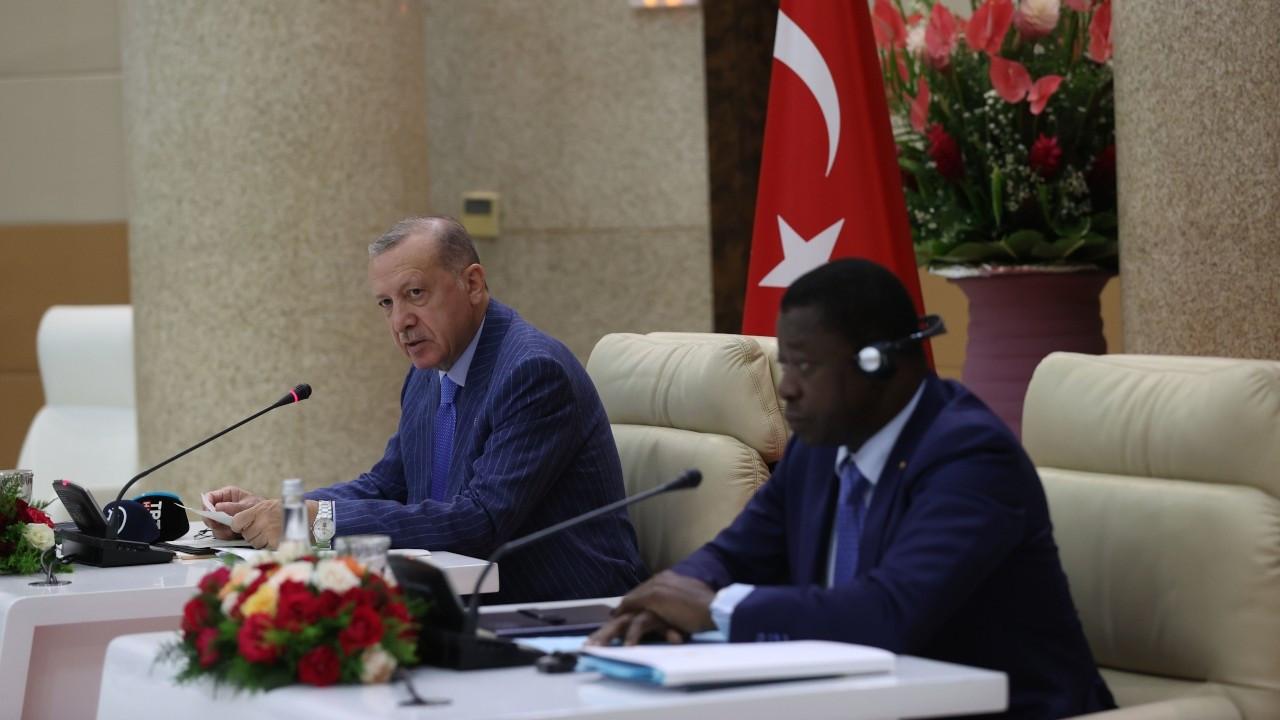 Erdoğan: Togo, Burkina Faso ve Liberya'ya aşı bağışında bulunacağız
