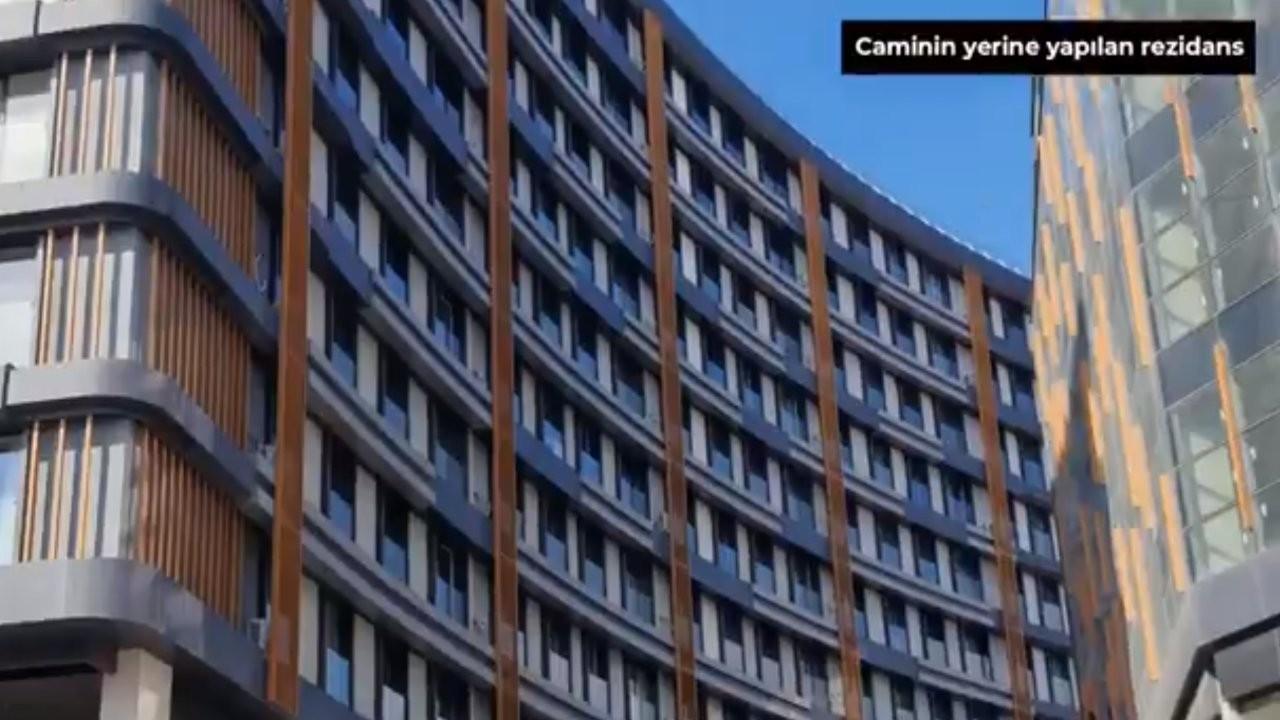 CHP'li Özkan: AK Partili belediye camiyi yıktı rezidans yaptı