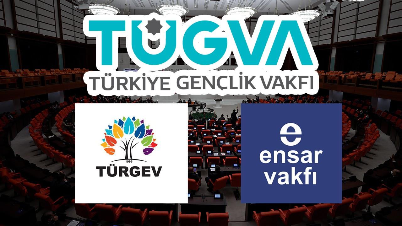 CHP bazı vakıfları TBMM'ye taşıdı: Paralel devlet kurma amacındalar