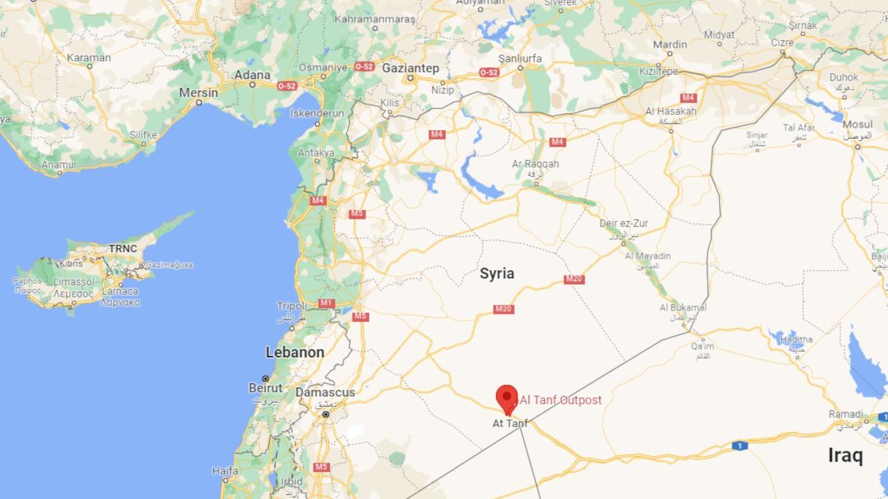 ABD'ninSuriye'deki üssüne drone saldırısı düzenlendi