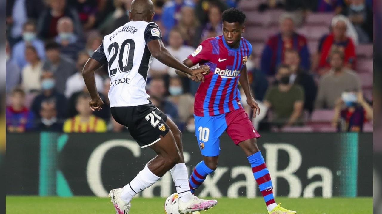 Barcelona Ansu Fati'nin sözleşmesini 1 milyar euro bonservisle uzattı